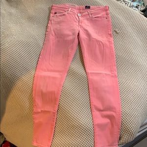 AG Neon Pink Jeans